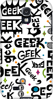 Geek Type 3G  4G  4s iPhone case by Andi Bird