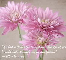 If I Had a Flower... by Linda  Makiej
