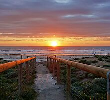 Aldinga Silver Sands Beach (Sunset) by sedge808