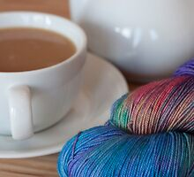 Tea and Yarn by Mara Acoma
