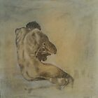Seated Nude 3 by Fred  Whitson