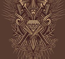 Crest Craft Brown by Martin Knight