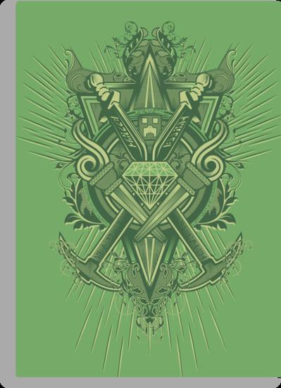 Crest Craft Green by Martin Knight
