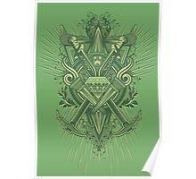 Crest Craft Green Poster