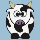 ღ°㋡Cute Brindled Cow Clothing & Stickers㋡ღ° by Fantabulous