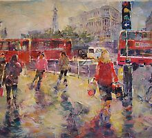 Lively London - London Art gallery by Ballet Dance-Artist