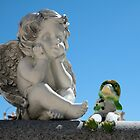 Angel & Frog by Jeff Knapp