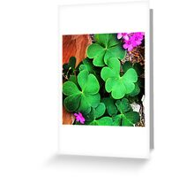 Lucky You!  Greeting Card