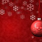 Skull & Crossbones holiday ornament by Jeff Knapp