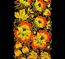 Russian painting style iPhone case by Irina Chuckowree