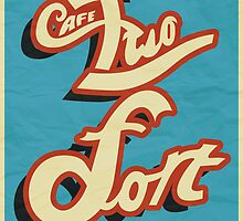 Team Fortress 2; Cafe Two-Fort. by PoweredByPixels