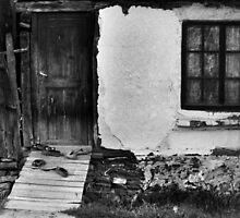 Window, Door & Shoes by Stefan Kutsarov