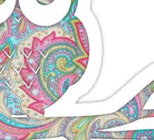 Owl pirch Sticker