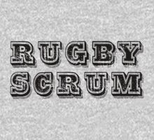 Rugby Scrum by SportsT-Shirts