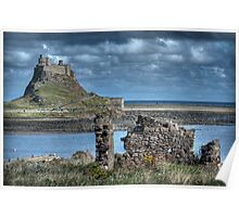 Lindifarne Castle (Holy Island) Poster
