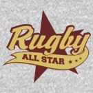 Retro Rugby by SportsT-Shirts