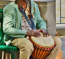 Soulful Drummer by domica48