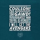 Coulson Nooooo! by ratatusk