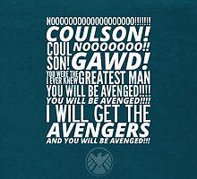 Coulson Nooooo! by ratatusk