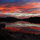Sunset at Fish Lake by ShutterlyPrfct