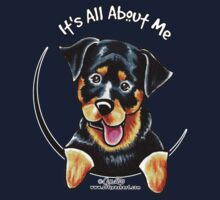 Rottweiler :: It's All About Me by offleashart