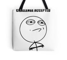 Challenge Accepted (HD) Tote Bag