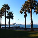 Eastern Beach Geelong by Leonie Morris