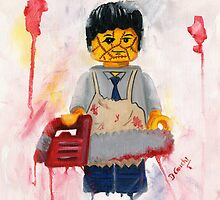 leatherface by Deborah Cauchi