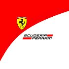 Ferrari Scuderia F1 iPhone/iPod Case by Simon Kelshaw