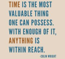 Time is Valuable by Colin Wright