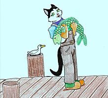 Tinker the Fishmonger by paintedcat