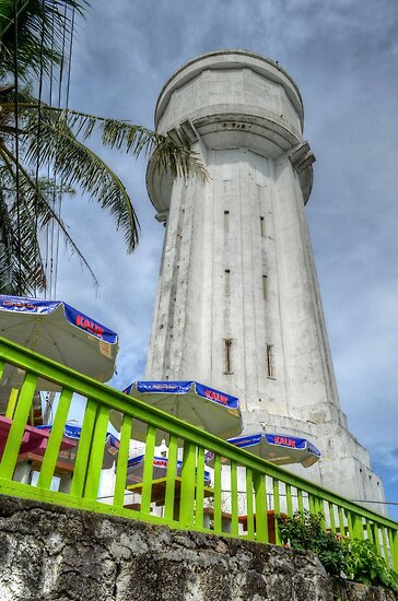 Historical Places of Nassau, The Bahamas: The Water Tower by 242Digital