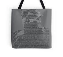 Biggie Lyric Portrait Tote Bag