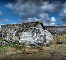 Fisherman's Hut by Colin Metcalf