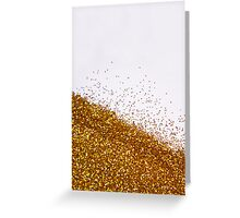 Glitter Is My Favorite Color II (NOT REAL GLITTER - A photograph) Greeting Card
