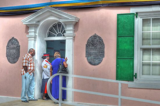 Street Life in Downtown Nassau, The Bahamas by 242Digital