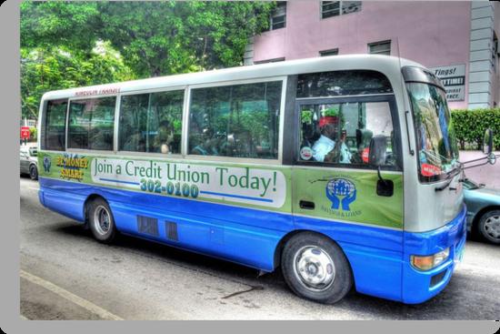 "Public ""Jitney"" in Nassau, The Bahamas by 242Digital"