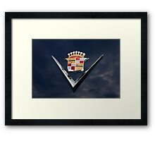 Cadillac Crest Framed Print