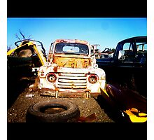 One Man's Junk Another Man's Treasure Photographic Print