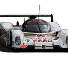 Le Mans Peugeot 905 by jonbunston