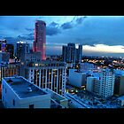 Downtown Miami by LoveJess