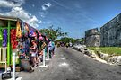 Tourists at Fort Fincastle in Nassau, The Bahamas by 242Digital