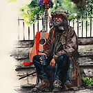 Glastonbury Man by Peter Williams
