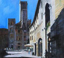 Untitled 7 - città toscane by Richard Sunderland