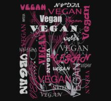 Vegan Type - pink by veganese