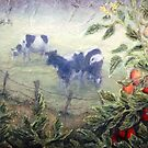 Tomatoes in the Mist - detail by Lee Baker DeVore