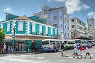 Bay Street & George Street in Downtown Nassau, The Bahamas by 242Digital