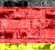 Germany Flag Vintage Sticker