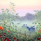 Tomatoes in the Mist by Lee Baker DeVore