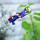 Superman To The Rescue by Amertastic